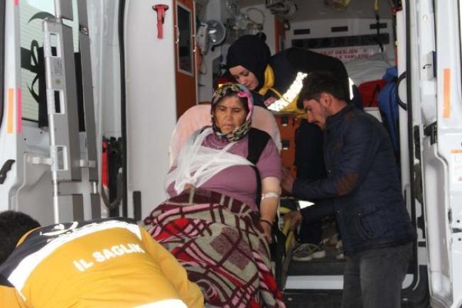 Suşehri'nde sollama kazası: 4 yaralı.
