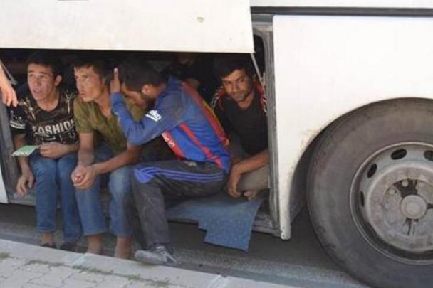119 kaçak göçmen yakalandı