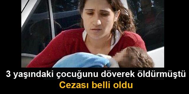 3 Yaşındaki Çocuğu Döverek Öldürdü