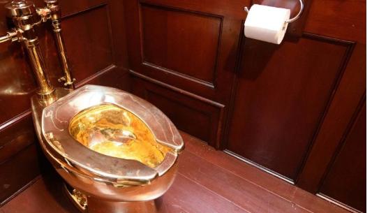 5 milyon dolarlık altın klozet çalındı