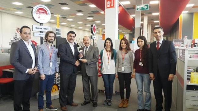 Vestel çalışanlarından KİTVAK'a destek