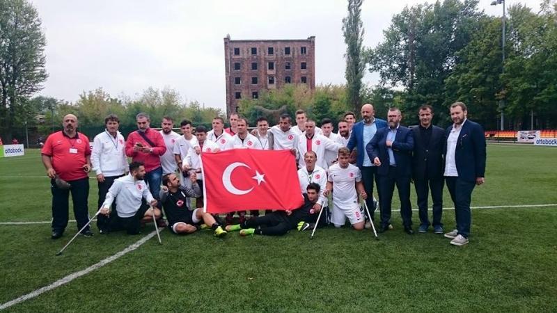 Ampute Milli Takım Avrupa Şampiyonu