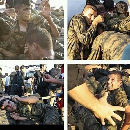 Askerlere Acımasız Saldırılar