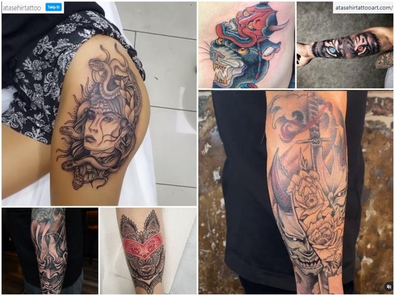 Ataşehir Tattoo Art'ın Mitoloji Repertuvarı