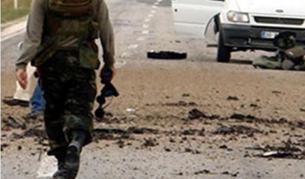 Bitlis'te askeri araca saldırı 2 şehit 1 yaralı