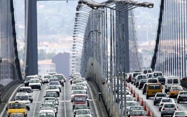 Boğaziçi Köprüsü kapalı
