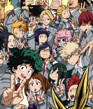 Boku no hero academia, anime izle