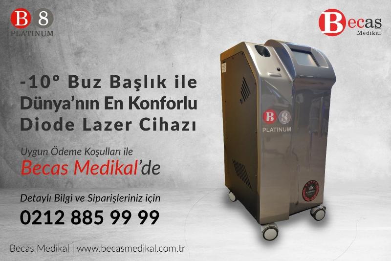 Becas Medikal Diode Lazer Cihazı