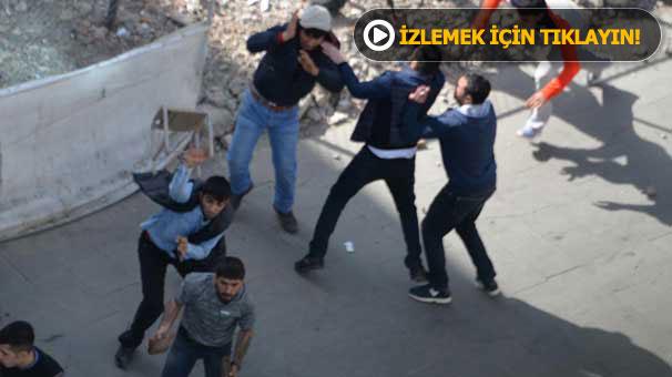 Diyarbakır'da pitbul köpeği ile birlikte kavga