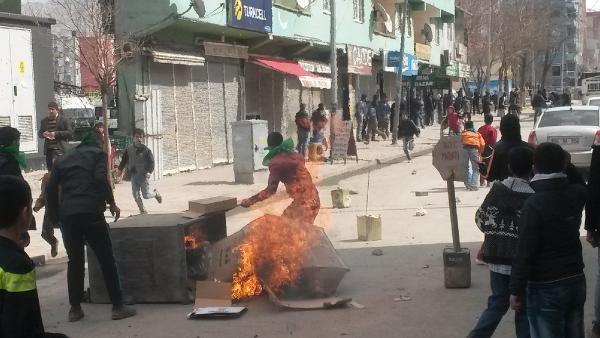 Doğubayazıt'ta nevruz sonrası olaylar çıktı