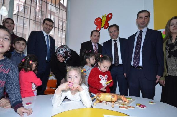 Down sendromlu çocuklar için eğitim merkezi açıldı