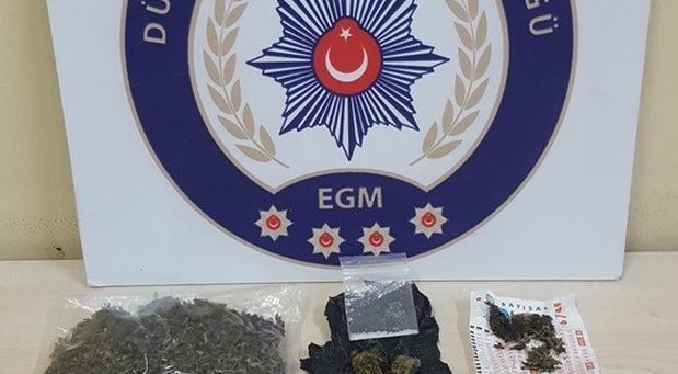 Düzce polisinden uyuşturucuya engel