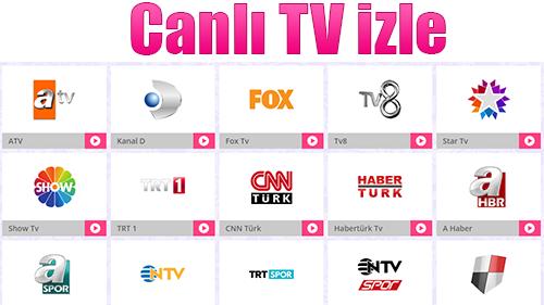En İyi Canlı Tv Yayınını İzlemek İçin Tıklayın