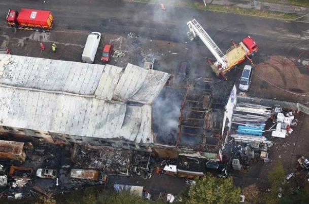 Endonezya'da patlama yaşandı
