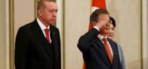 Erdoğan'dan Güney Kore ziyaretinde dikkat çeken kare