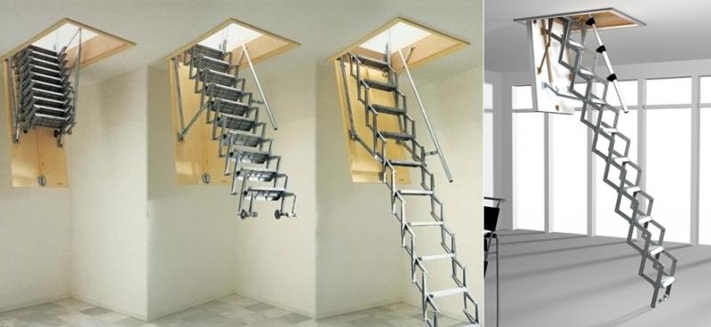 Farklı Çatı Merdiveni Modelleri