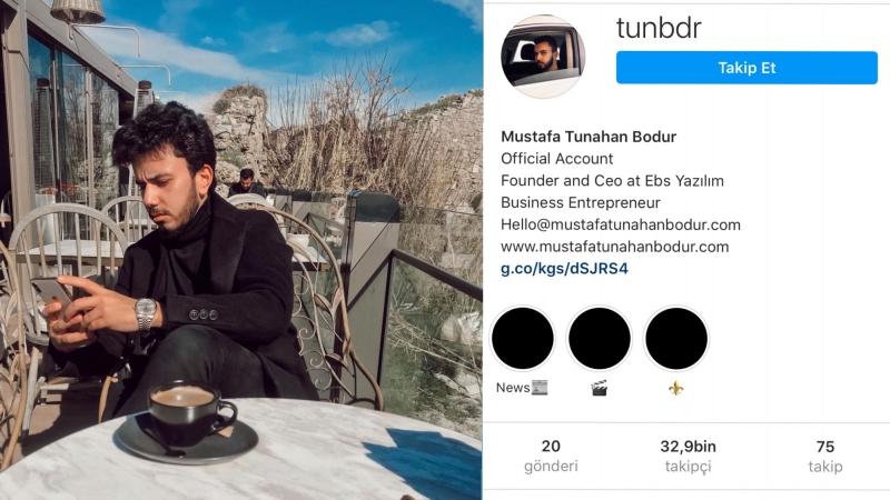 Genç işadamı Mustafa Tunahan Bodur (Tunbdr):Pandemi dönemini fırsata çevirdi