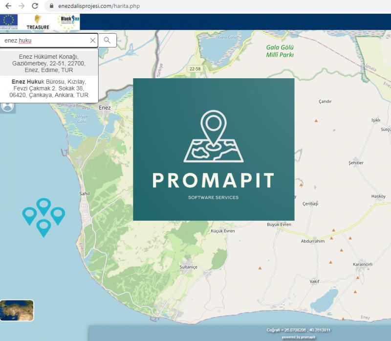 Harita Yazılımlarında Tecrübeli Alternatif - Promapit