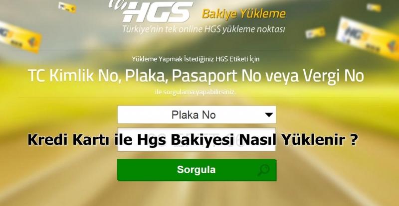 HGS Yüklemede Büyük Kolaylık