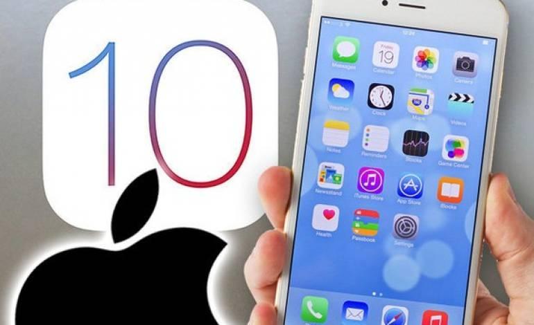 iOS 10 Geldi !