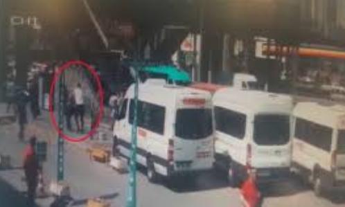 İstanbul'un göbeğinde kadına şiddet