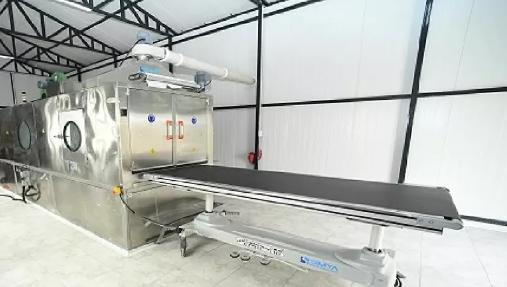 Konya Büyükşehir Belediyesi'nden otomatik cenaze yıkama makinesi