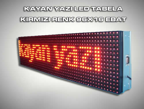 LED Tabela ve Panellerin Kullanım Alanları