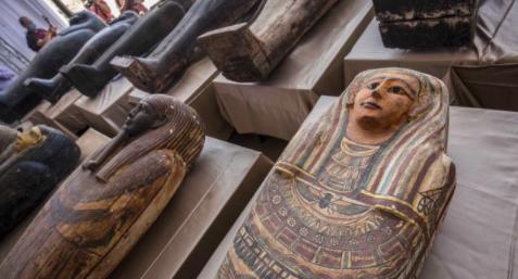 Mısır'da hazine bulundu