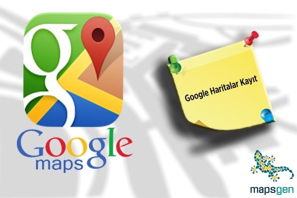 Navigasyon Cihazları İçin Harita Kaydı