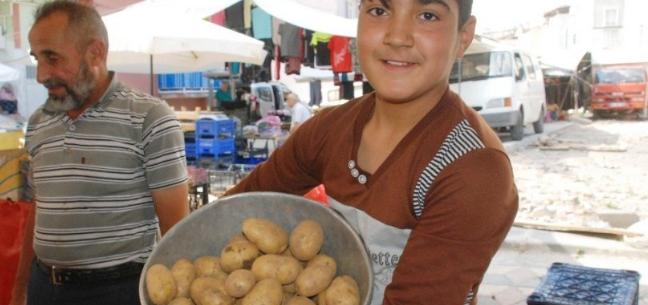 Patates 2, soğan 3 lira