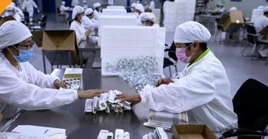 Pekin'de yaklaşık 1.7 milyon kişi aşı oldu