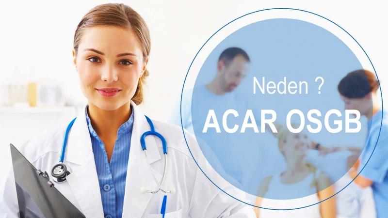 Sağlık Tarama Hizmetleri için Acar OSGB