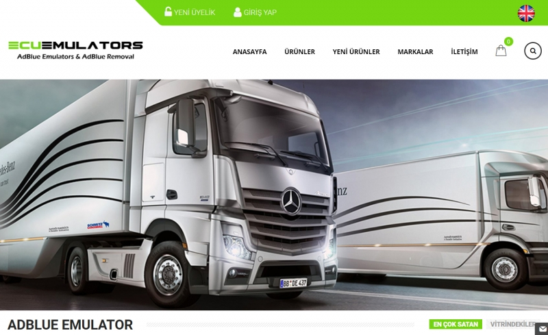 Scania Euro 6 Adblue İptali