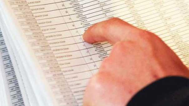 Seçmen listeleriyle ilgili uyarılar