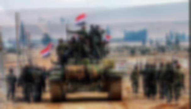 Suriye ordusu YPG kontrolündeki bölgeye girdi