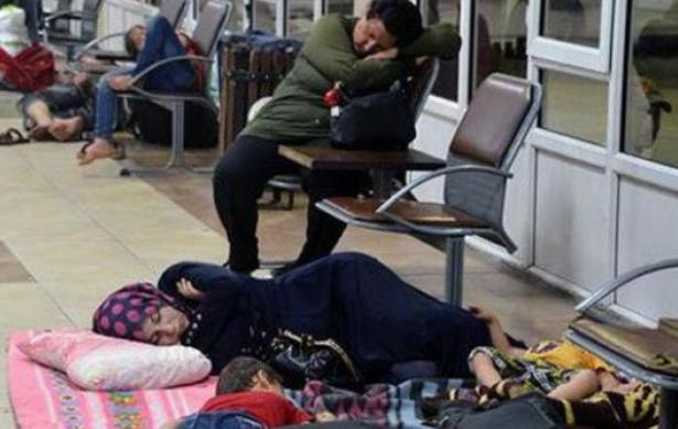 Suriyelilere il dışına çıkma yasağı