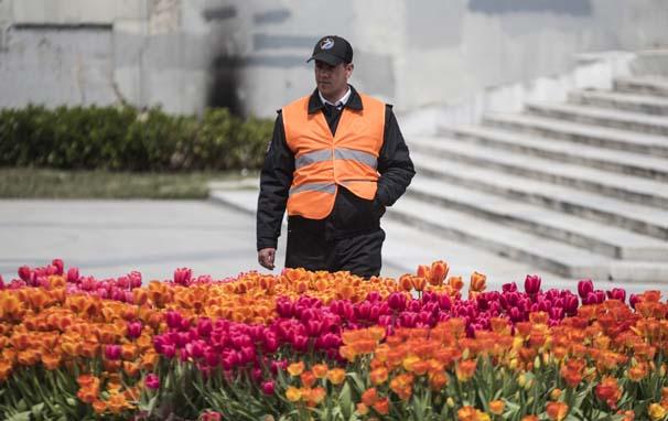Taksim de Festival İçin Güvenlik