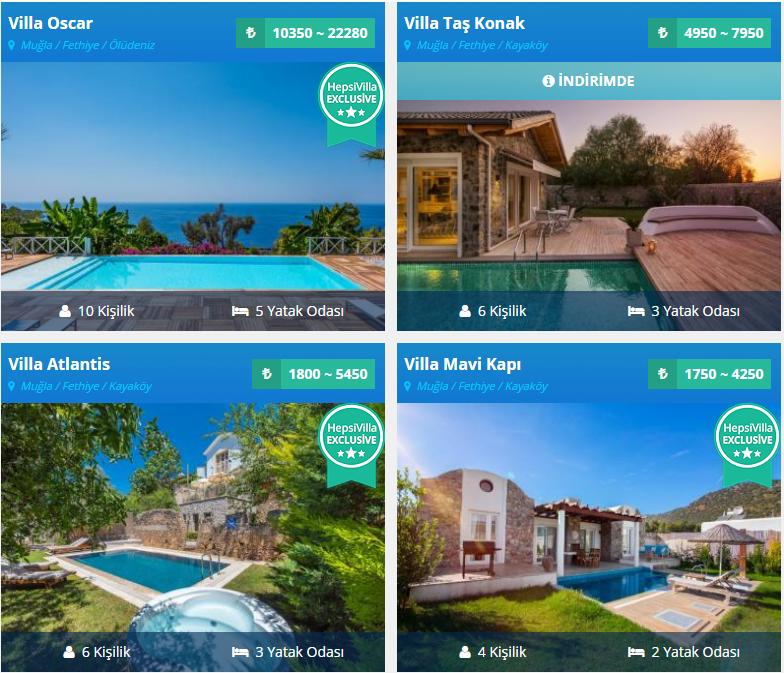 Tatili Mükemmel Bir Yazlık Villada Geçirmeye Ne Dersiniz ?