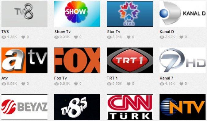 Televizyon Kanallarını İnternette İzleme Keyfi