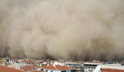 Toz fırtınası uyarısı