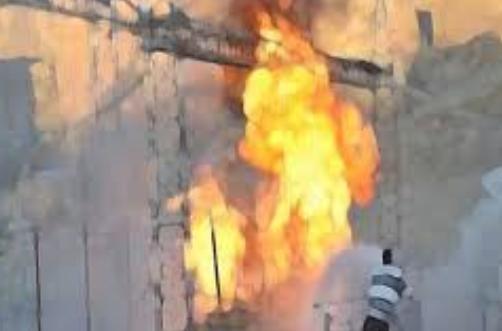 Trafo patladı bomba sanıldı