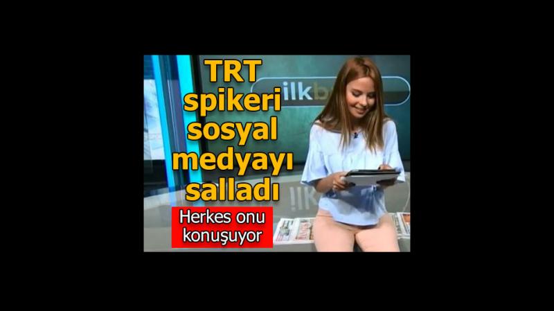 TRT Spikeri Güzelliği İle Ön Plana Çıktı