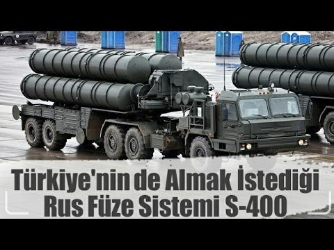 Türkiye'nin satın almak istediği füze sistemi