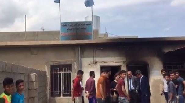 Türkmeneli partisine saldırı yapıldı