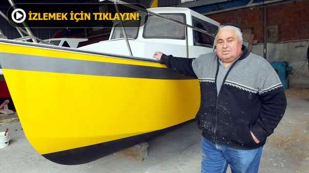 Üniversiteyi bırakıp tekne üretmeye başladı
