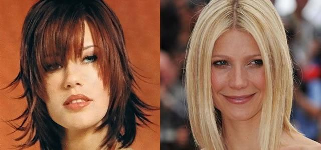 Uzun yüzler için saç modelleri