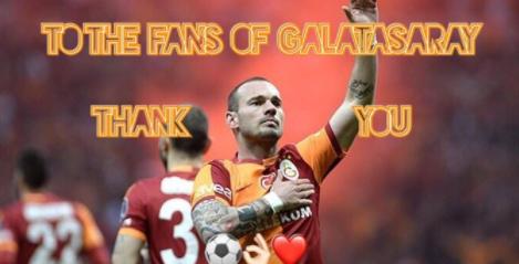 Wesley Sneijder gitti