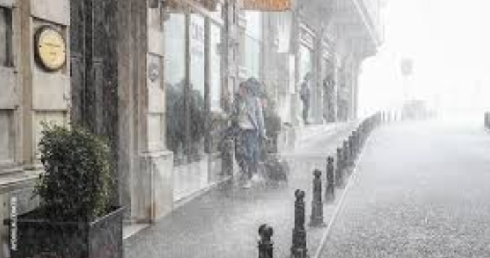 20 saatlik yağış yolda
