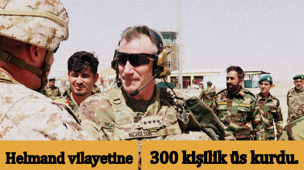 ABD, Helmand vilayetine üs kurdu