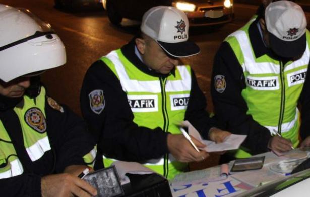 Alkolden dolayı 1.2 milyon ehliyete el konuldu